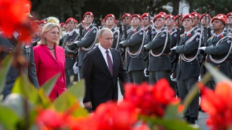 You'll never guess where Vladimir Putin is going to show up this weekend