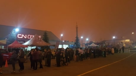 Crews watch winds closely as B.C.'s biggest wildfire grows near Prince George