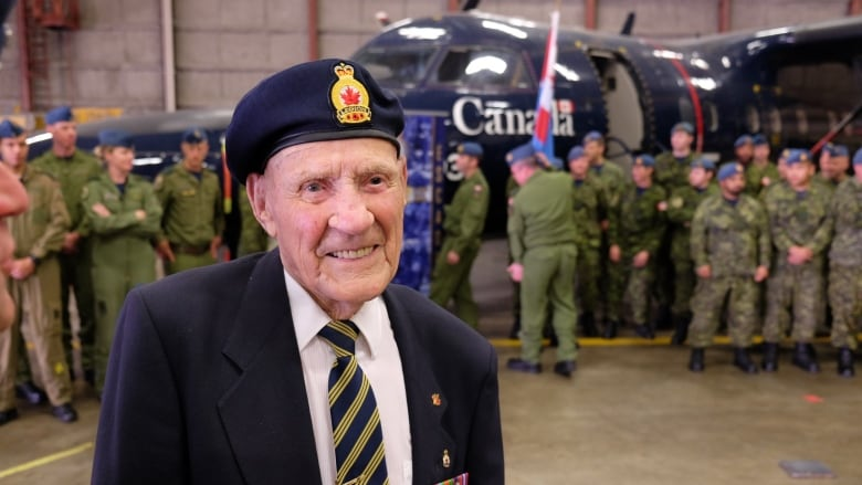 Survivor of Dieppe raid honoured in Winnipeg 76 years after being taken prisoner Elmer-cole