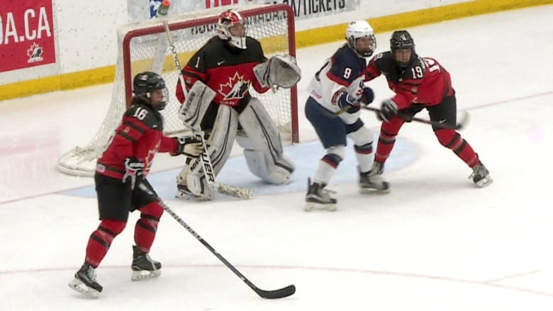 Canada U S Women S Hockey Rivalry Continues In Calgary This Weekend