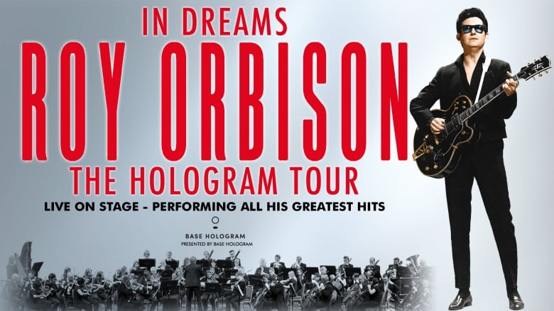 Roy Orbison died 30 years ago but will perform a Toronto concert