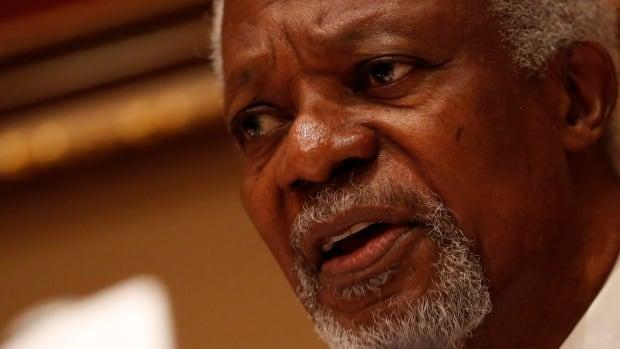 Former UN secretary general Kofi Annan dies at age 80