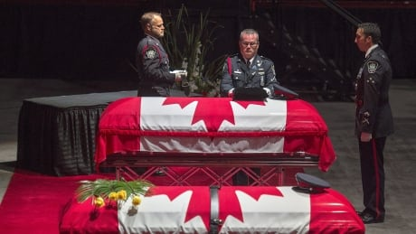 Heroes for a nation: 2 Fredericton police officers honoured at regimental funeral thumbnail