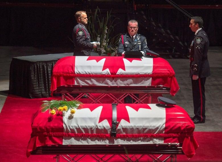 Fallen Fredericton police officers honoured at regimental funeral