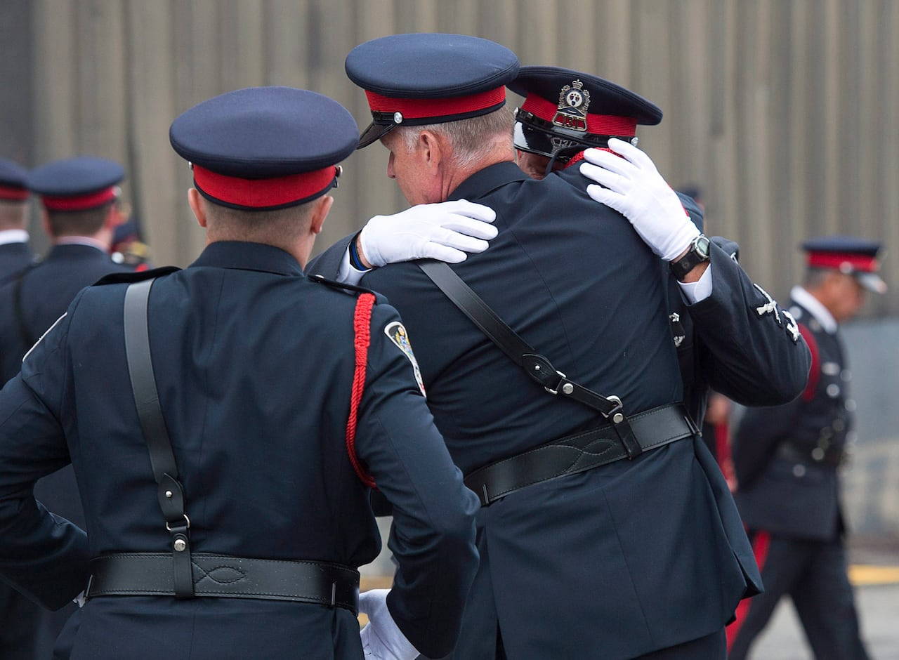 Heroes for a nation: 2 Fredericton police officers honoured
