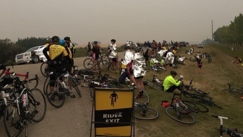 Enbridge Ride to Conquer Cancer cancelled due to poor air