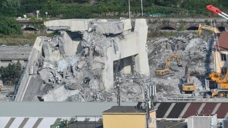 ITALY GENOA MORANDI BRIDGE COLLAPSE AFTERMATH