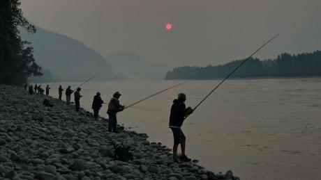 Fraser River anglers