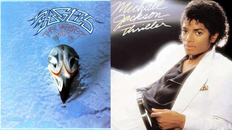Eagles hits album tops 'Thriller' on all-time sales list