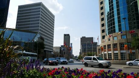 Winnipeg Portage and Main intersection