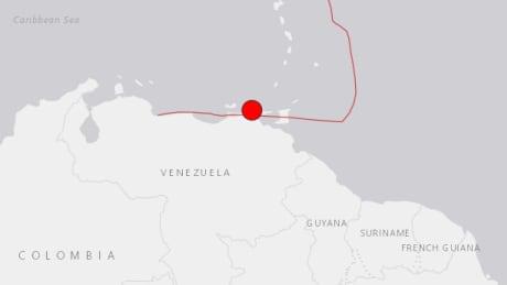 Strong earthquake hits northern Venezuela