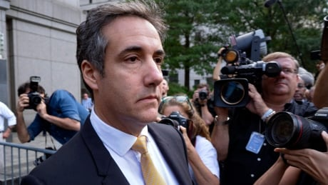 Former Trump lawyer Michael Cohen providing 'critical information' to Russia probe