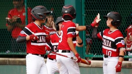 LLWS Puerto Rico Canada Baseball