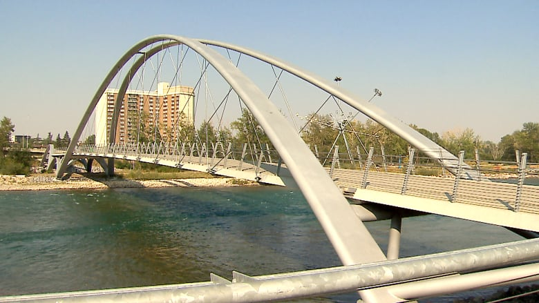 Cracked bridge connecting Bridgeland to East Village reopens early