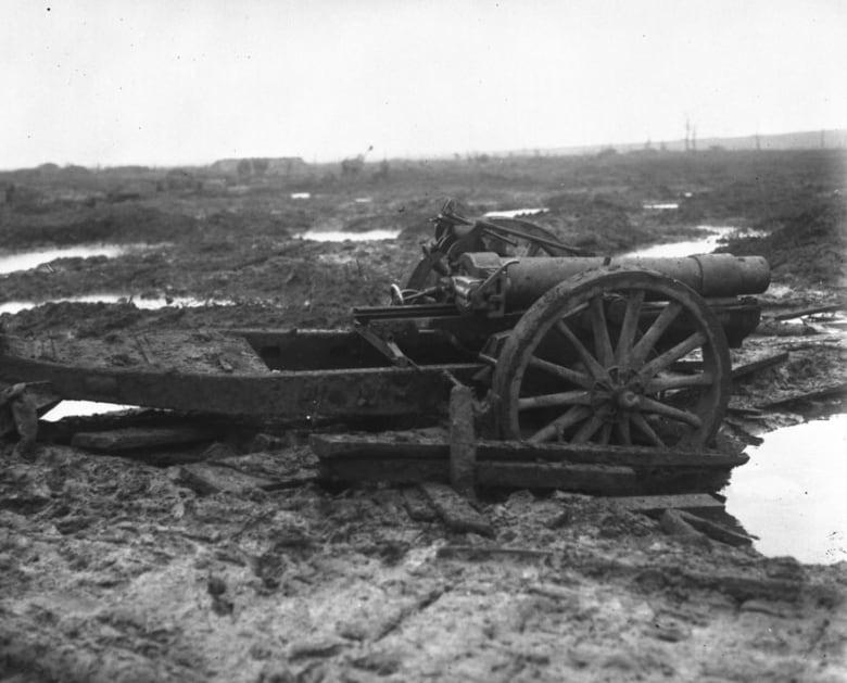 The murderous mud of one First World War battlefield   CBC