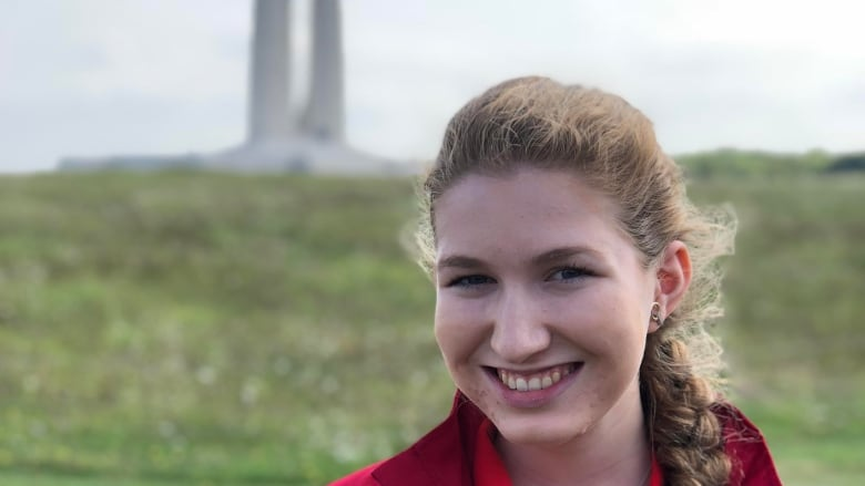 How walking among graves changed a young Torontonian's view of the World Wars Caroline-tolton-vimy