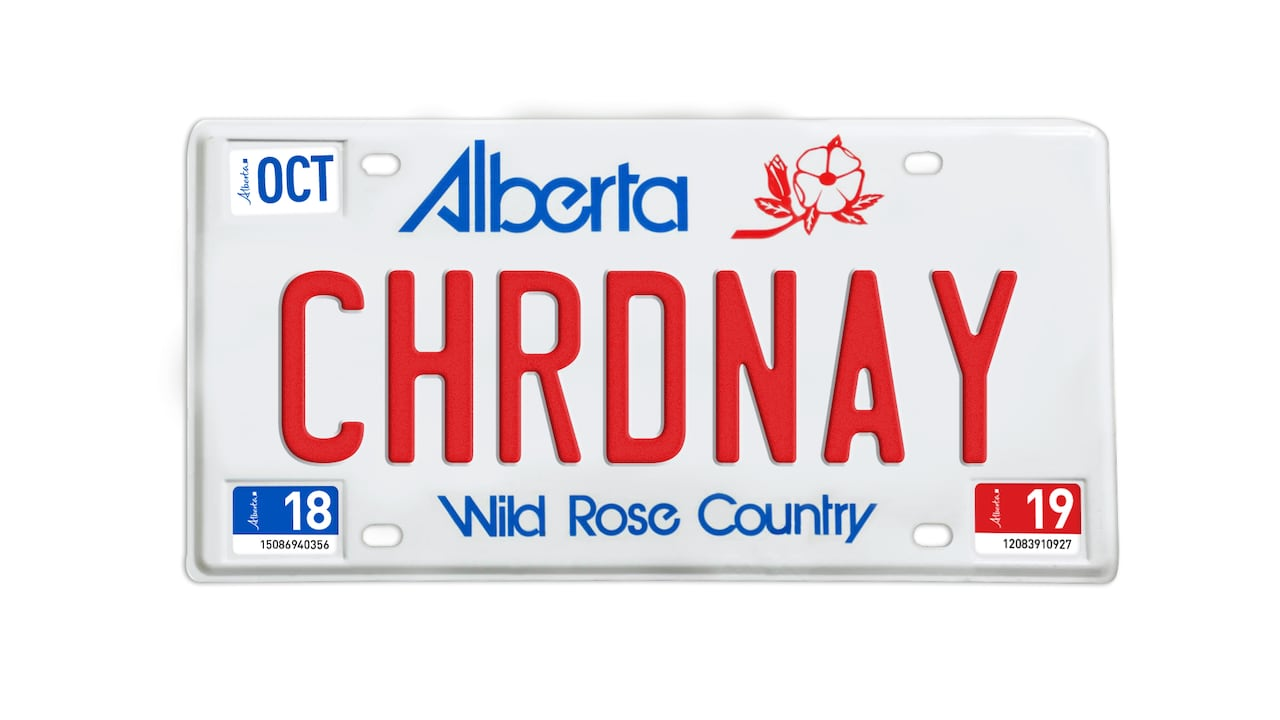 Too rude for the road: Here are the licence plates Alberta won't