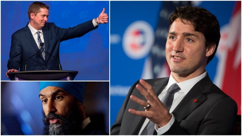 The front-lines: Where federal party leaders are concentrating their efforts for the coming campaign