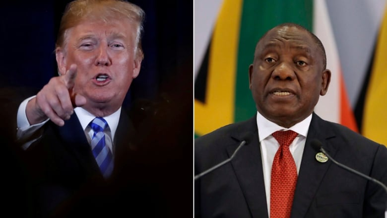trump spread a racially divisive theory on south african land