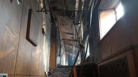 Harbin China hot springs hotel fire
