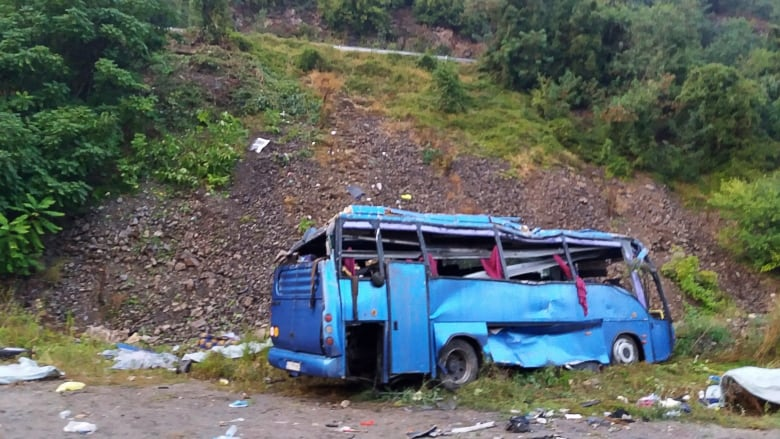 Tourist bus crash in Bulgaria kills 15 passengers