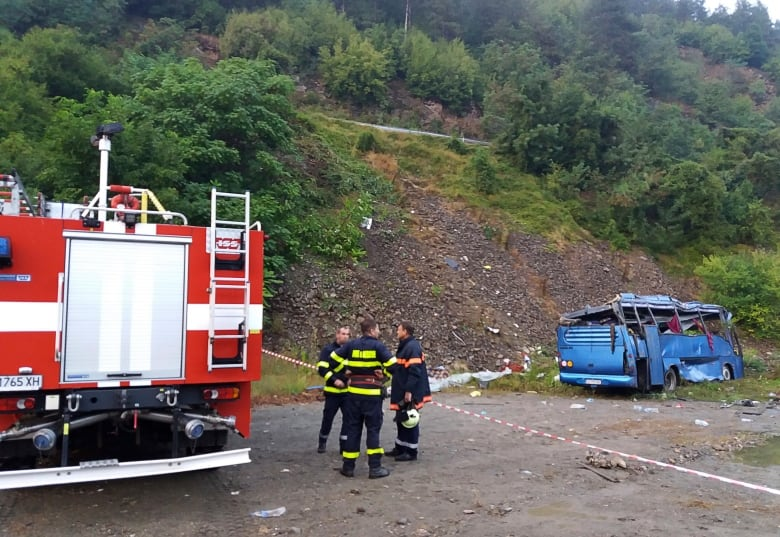 Dead and 27 Injured After a Bus Crashed in Bulgaria