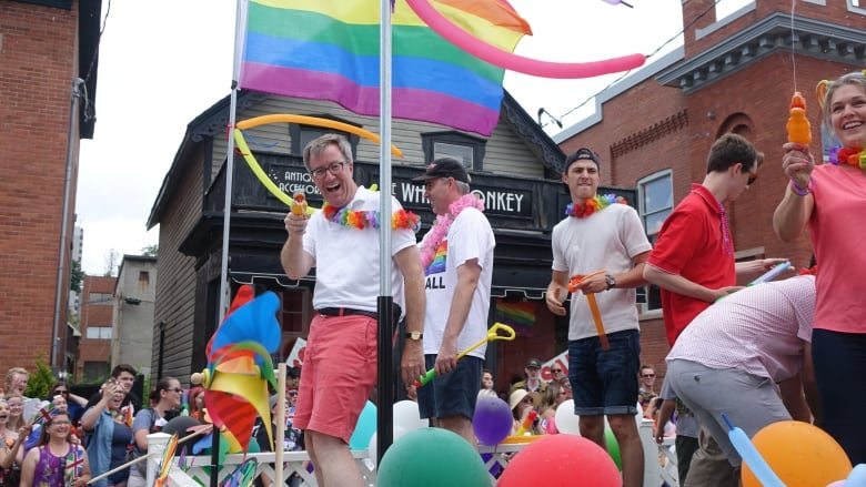 Jim Watson officially comes out as gay after 40 years