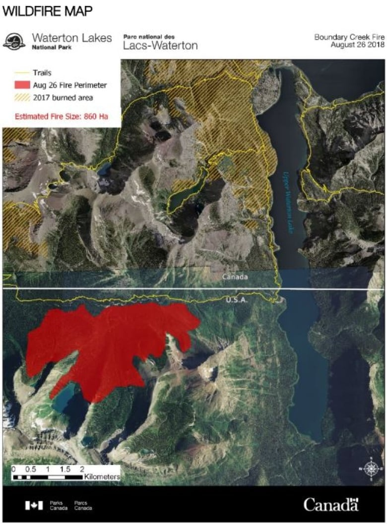 U.S. fire managers get green light to operate in Waterton ...