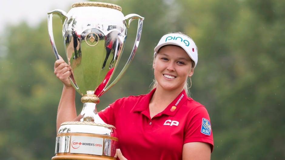 National Title Drives Brooke Henderson Into Canadian Golf Lore Cbc Sports