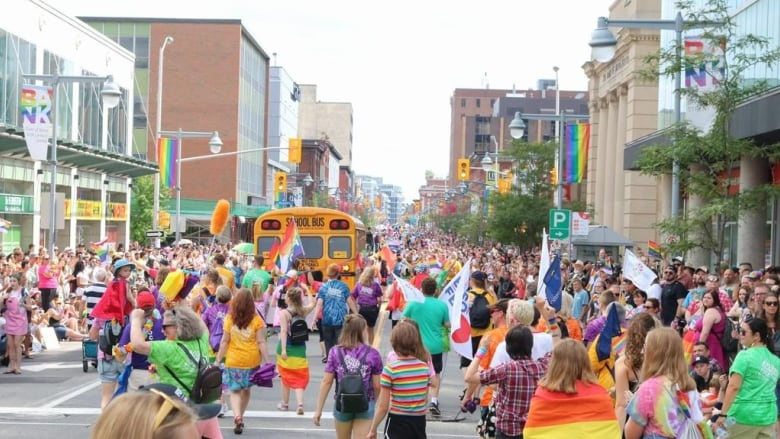 Road closures in Centretown for Pride's final weekend