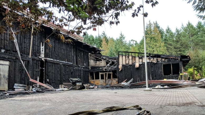 Hornby Island residents anxious for news on future of fire-damaged school