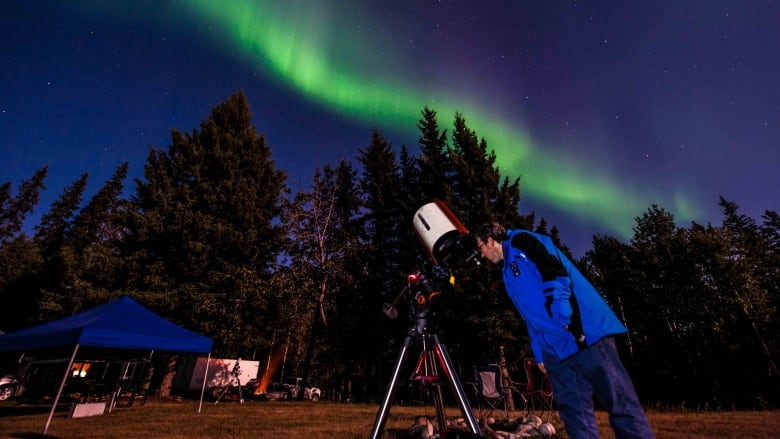 Dark Sky Festival attracts crowd to Wood Buffalo National