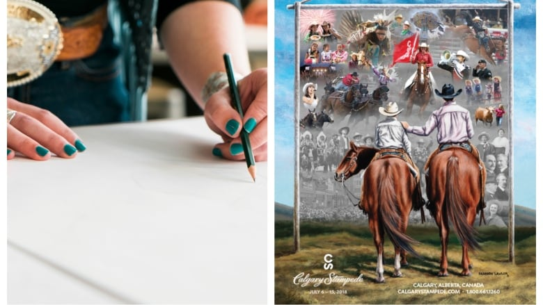 2bffe067a A youth artist from Alberta will be chosen as the designer of the 2019 and  2020 posters. (Calgary Stampede)