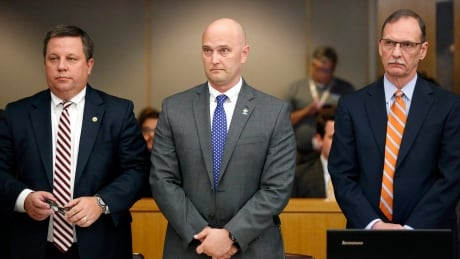 APTOPIX Texas Officer Murder Trial