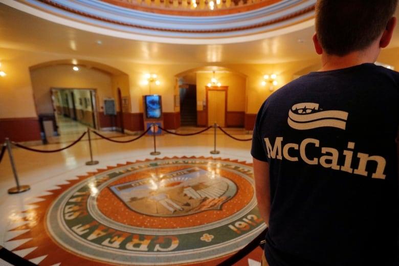 Emotional Joe Biden remembers John McCain as 'a brother' at memorial service