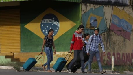 Brazil Venezuela Border