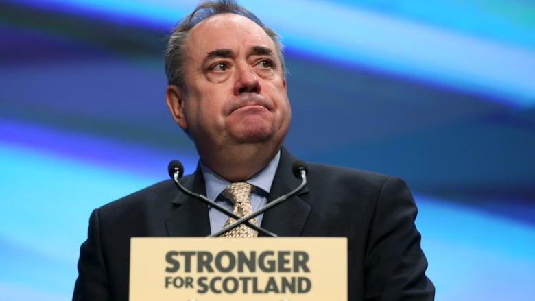 Alex Salmond resigns amid allegations of sexual misconduct