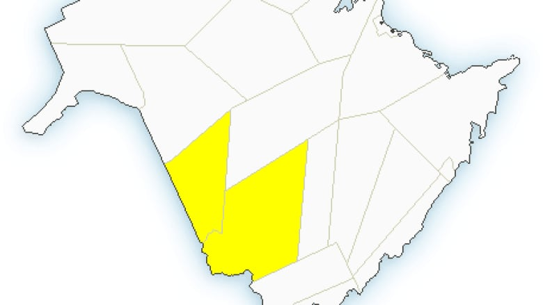 Severe Thunderstorm Watch Over For Central Western New Brunswick