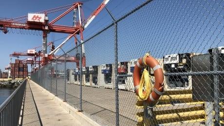 Halterm Halifax container terminal