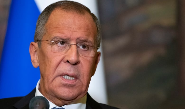Russian Foreign Minister Sergei Lavrov has warned the U.S. that any aggression in Venezuela will result in the 'gravest' circumstance. (Alexander Zemlianichenko/Associated Press)