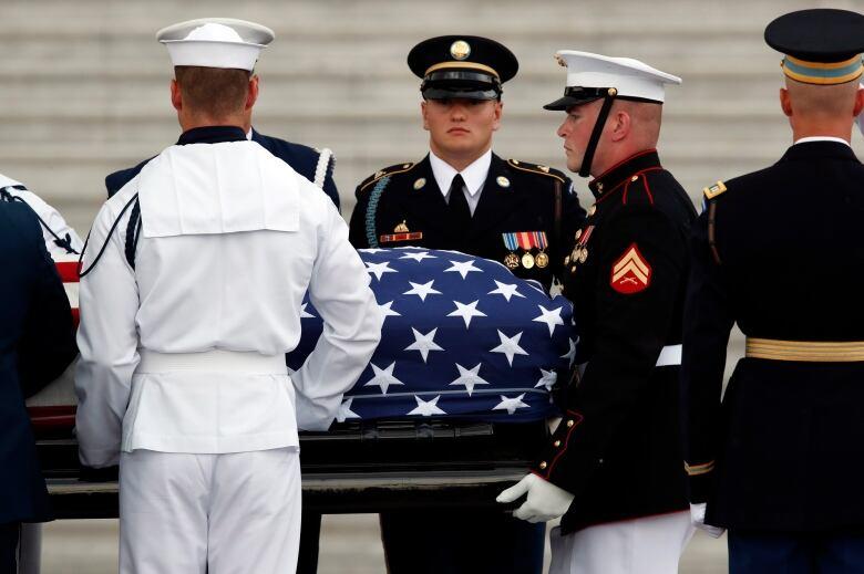 John McCain honored at Washington National Cathedral Memorial service