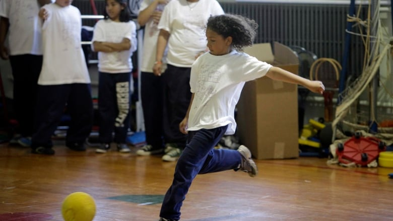 Many of the elimination games children and adolescents used to play in gym  class have been replaced. (M. Spencer Green Associated Press) 73fa72e242aed