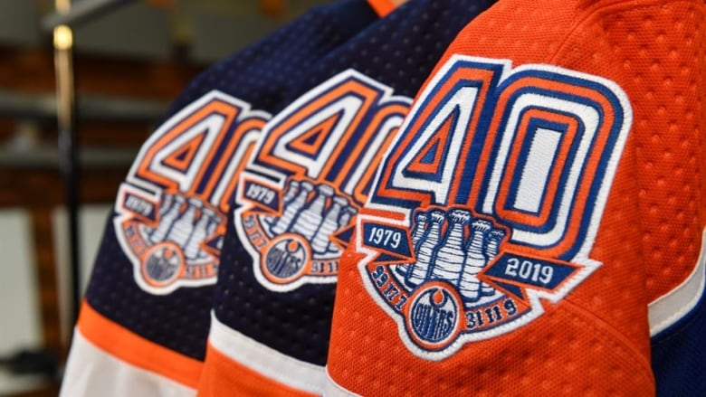 official photos 80b5e b1142 Edmonton Oilers launch 40th anniversary 'retro' jersey ...