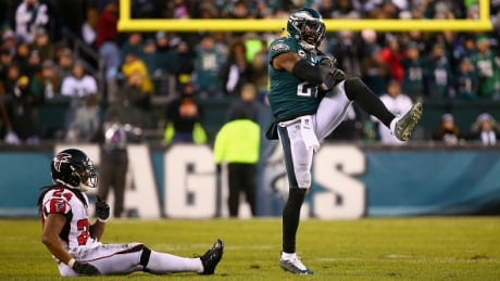 Eagles begin title defence with playoff rematch against Falcons