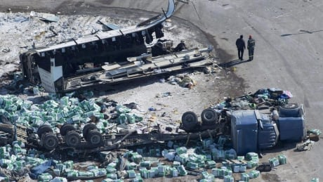 Owner of trucking company involved in Humboldt crash charged
