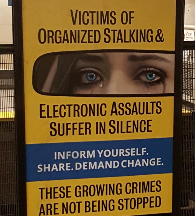 Organized stalking' ads on Vancouver transit a mental health concern