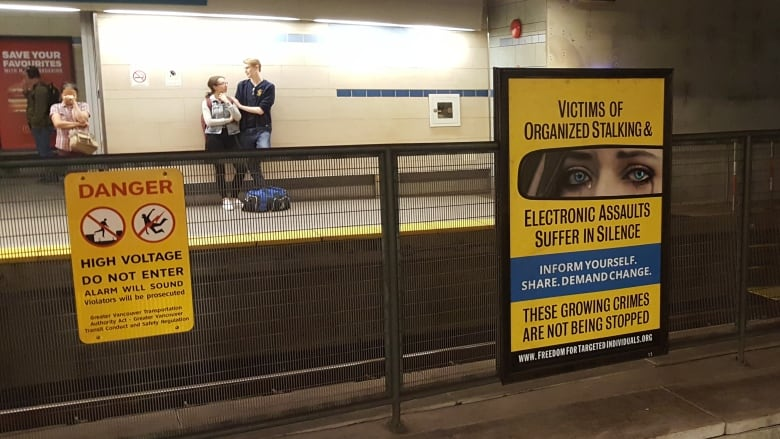 Organized stalking' ads on Vancouver transit a mental health