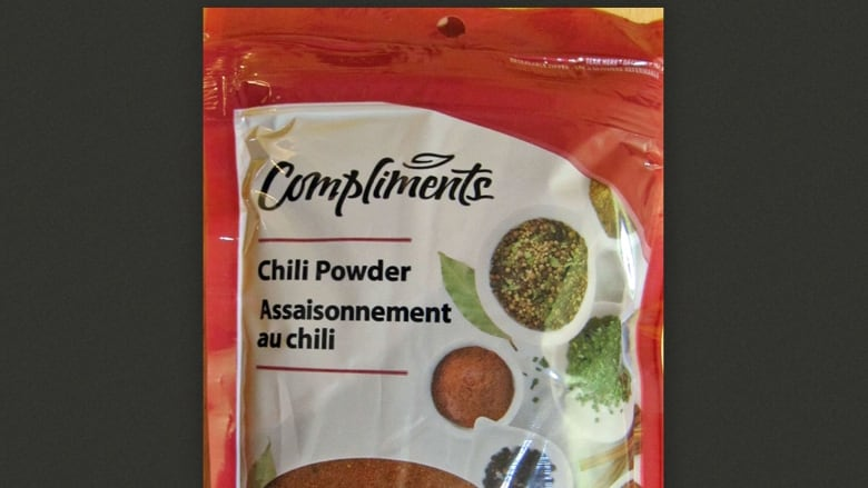Chili powder recalled due to potential Salmonella