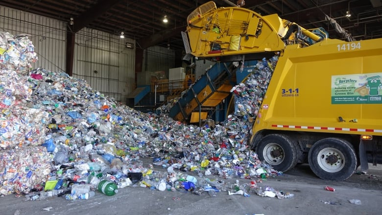 In your blue box, not all plastics are created equal | CBC News