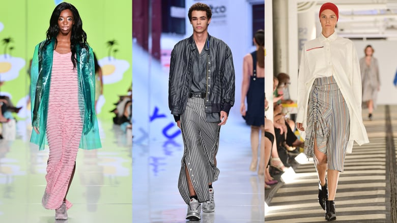From Rainbow Plastics To The New Summer Suit The Toronto Fashion